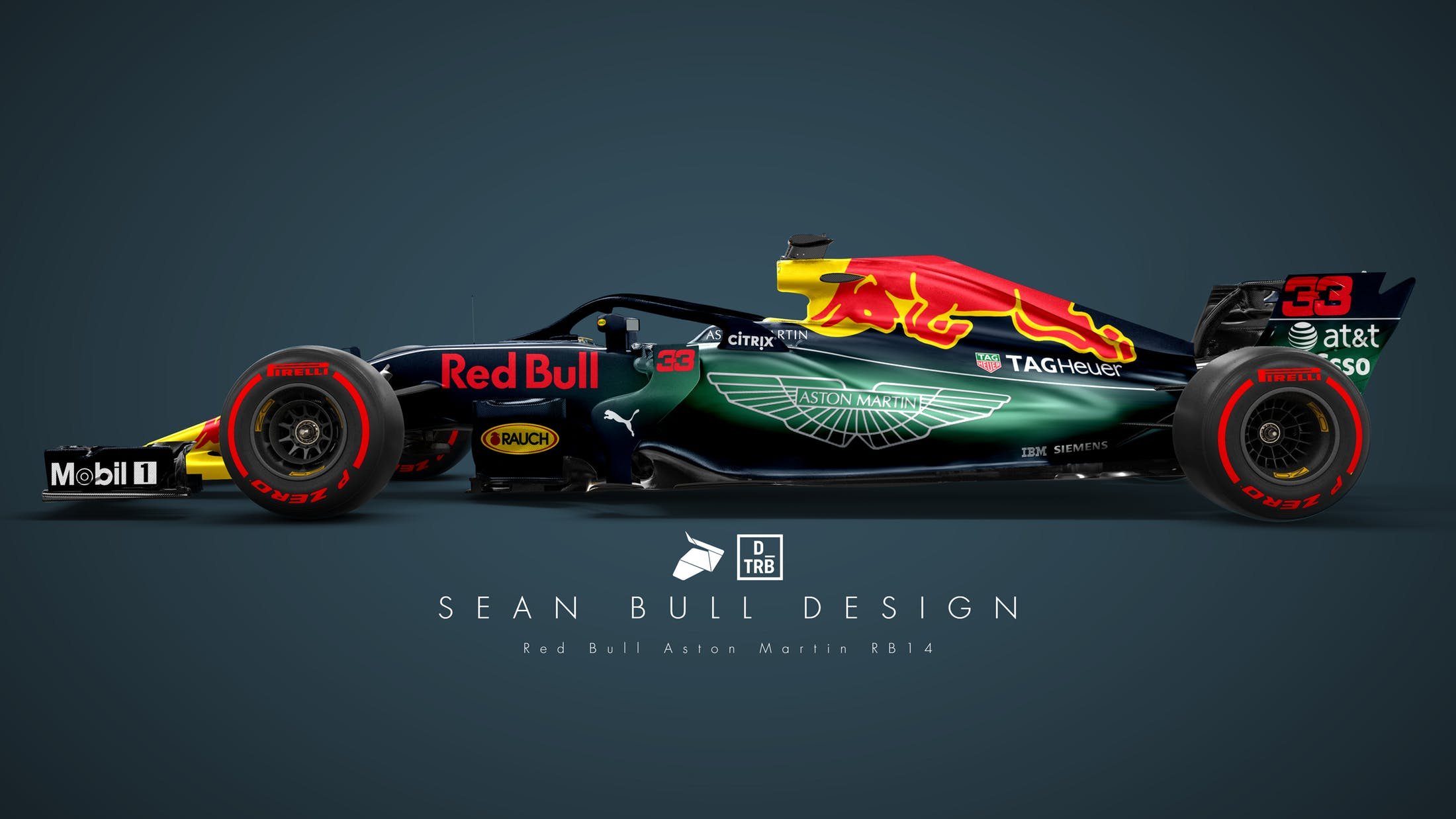 f1 aston martin red bull racing i sette ipotetici render per la vettura 2018 foto. Black Bedroom Furniture Sets. Home Design Ideas