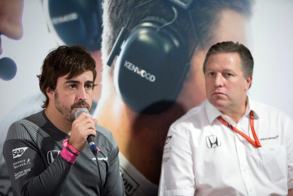 """F1   McLaren, Alonso sul motore Renault: """"Per noi sarebbe importante emulare i risultati della Red Bull"""""""