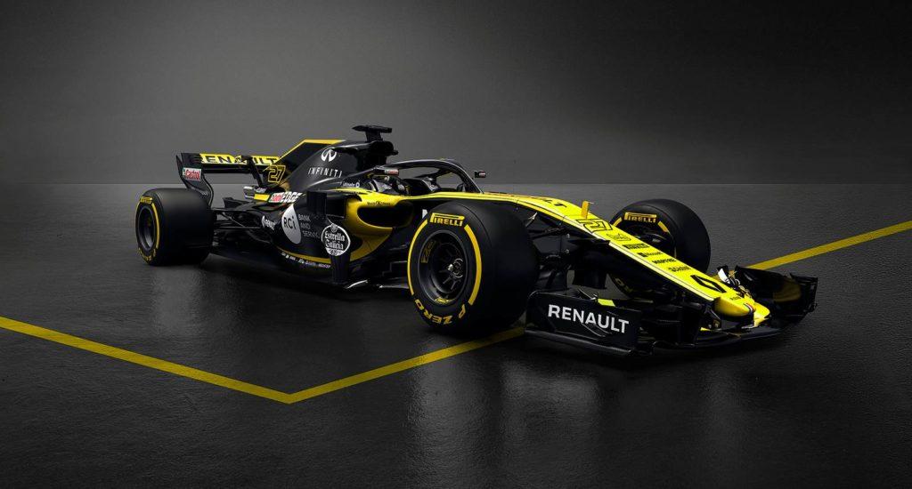 Renault toglie i veli alla monoposto di F1 chiamata RS18