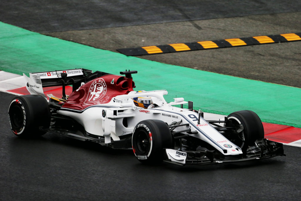 test f1 2018 alfa romeo sauber ericsson c del potenziale nella nostra vettura. Black Bedroom Furniture Sets. Home Design Ideas
