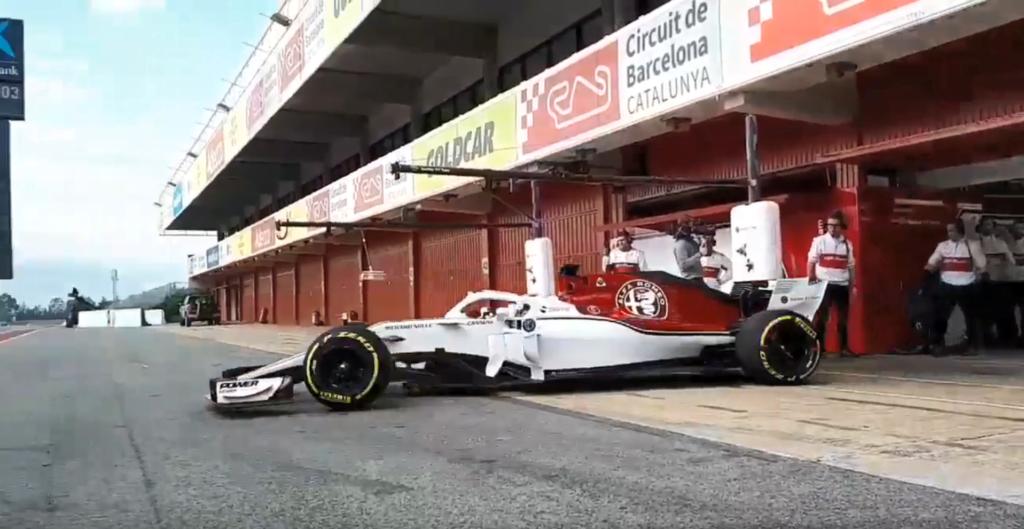 Formula 1 | Esordio a Barcellona per la nuova Alfa Romeo Sauber C37 [VIDEO]