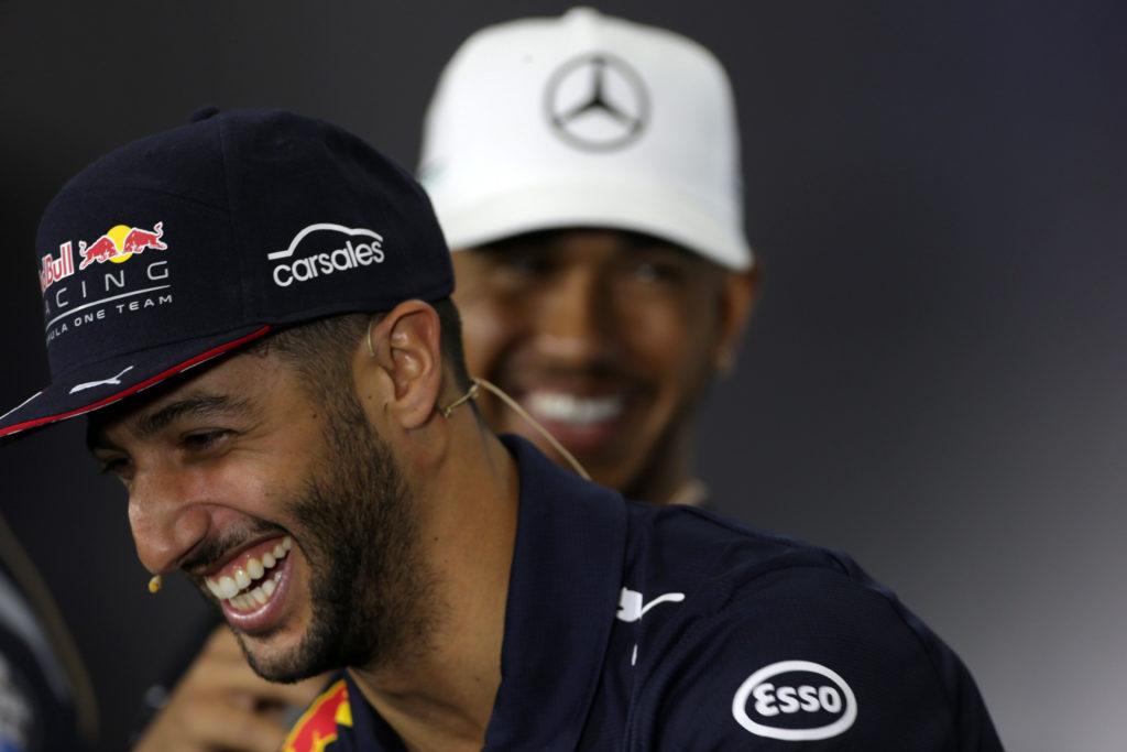 """F1   Ricciardo: """"Un giorno sarei felice di poter lottare alla pari con Hamilton"""""""