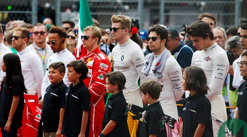 F1 |  Adiós a los paraguas?  Sí, pero llegan los niños: aquí están los niños de la cuadrícula