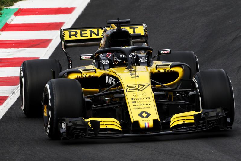 Test F1 2018 Renault Hulkenberg Buon Passo Avanti