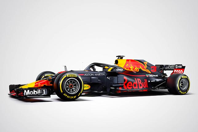 F1   Red Bull svela la livrea definitiva per la stagione 2018