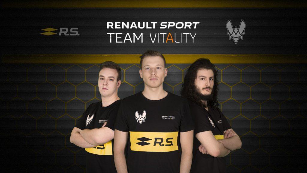 La Renault è la prima squadra con un team di eSports