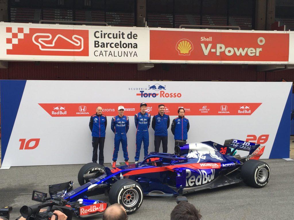 Formula 1 | Svelata a Barcellona la nuova Toro Rosso STR13