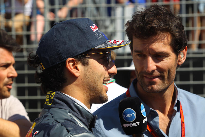 """F1   Webber: """"Ricciardo pensi prima a battere Verstappen, poi al contratto"""""""