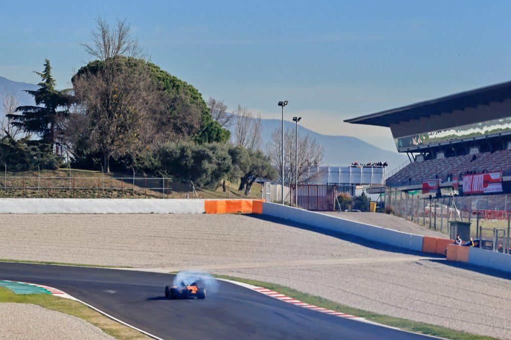 Test F1 2018 | Continuano i problemi in casa McLaren: Alonso fermato dalla rottura del turbo