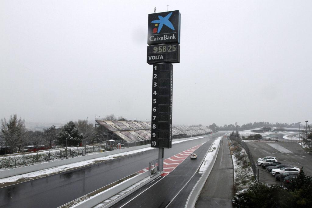 F1 | Montmeló, previste temperature miti nella seconda quattro giorni di test