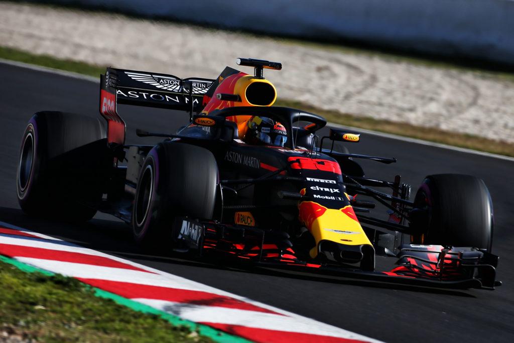 """Test F1 2018   Red Bull, Verstappen: """"Giornata positiva, abbiamo girato molto"""""""