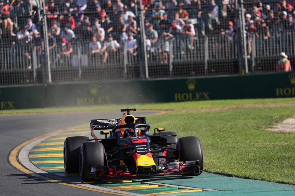 Ricciardo penalizzato di tre posizioni in griglia