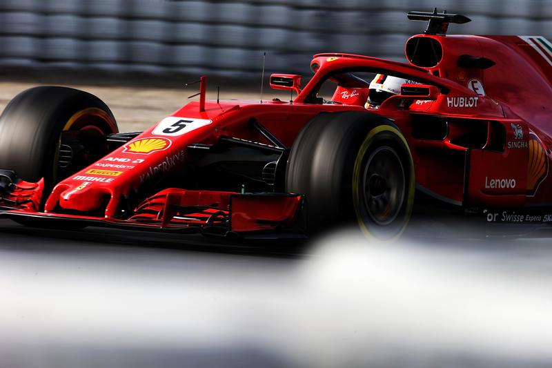 Test F1 Barcellona 2018, Sessione 2 – Giorno 3: Penultimo giorno all'insegna di Vettel con la Ferrari