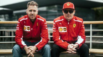Gp della Cina, Vettel e Raikkonen in prima fila