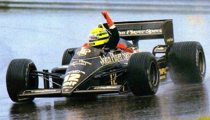F1   GP Portogallo 1985, il primo trionfo di Ayrton Senna