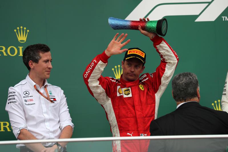 """F1   Raikkonen: """"Ho atteso il momento opportuno e alla fine è andata bene"""""""