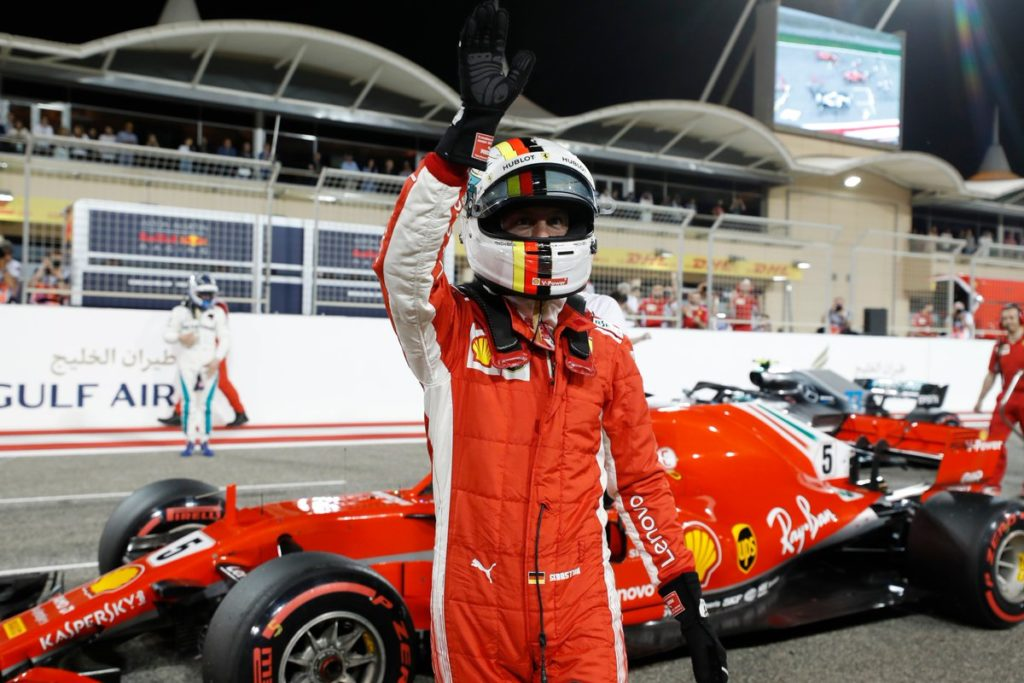 Ferrari, Vettel non si scopre