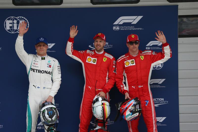 F1, in Cina grande pole di Vettel. Prima fila tutta Ferrari