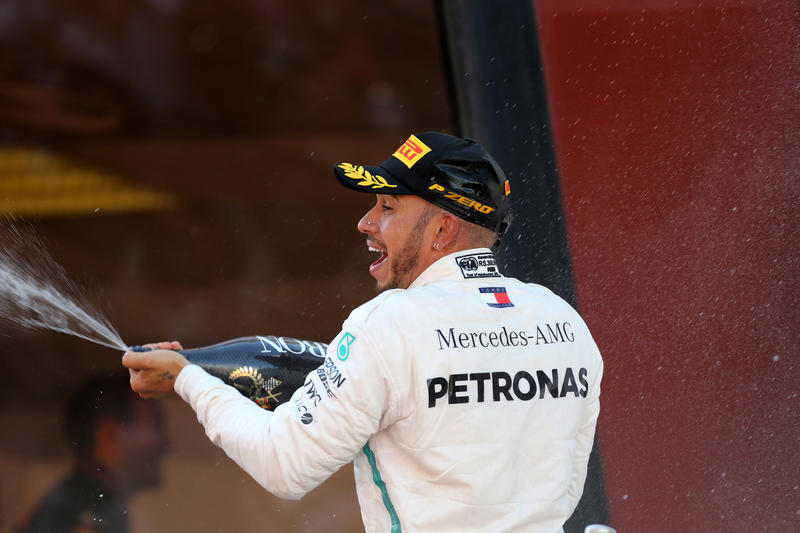 """F1   Hamilton: """"Sognavo una gara come questa"""""""