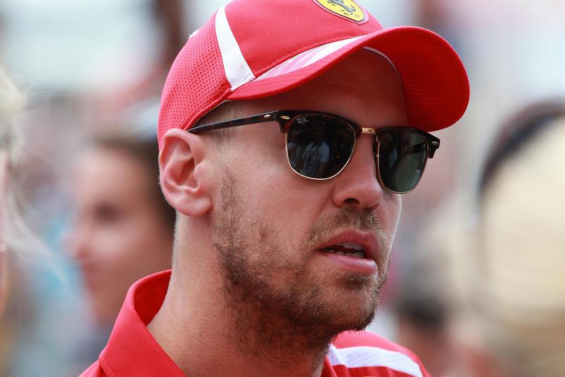 """F1   Vettel: """"Oggi la macchina mi dava fiducia, sono certo che possiamo migliorare"""""""