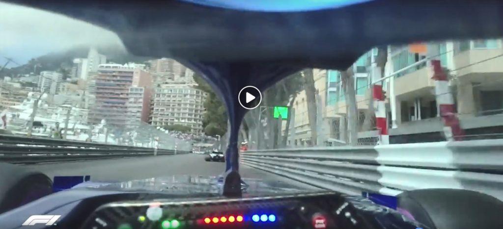 Formula 1   Toro Rosso, Monaco raccontata dalla prospettiva di Pierre Gasly [VIDEO]