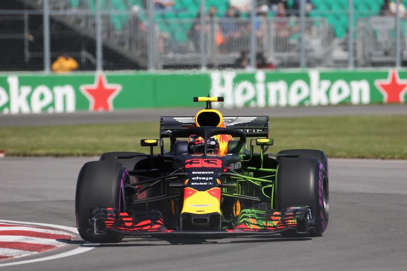 F1: Canada, prime libere a Verstappen