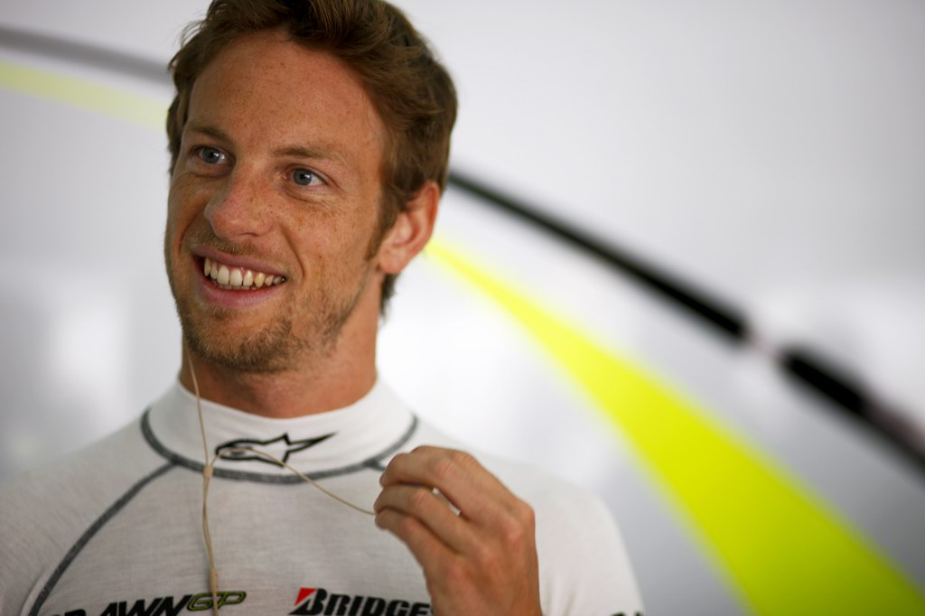 JENSON BUTTON 2009 WORLD CHAMPION