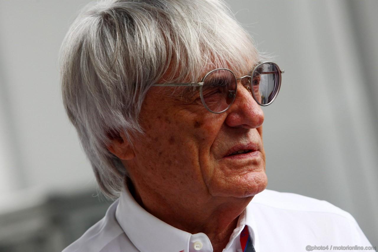 GP BRASILE, 27.11.2011- Bernie Ecclestone (GBR), President e CEO of Formula One Management
