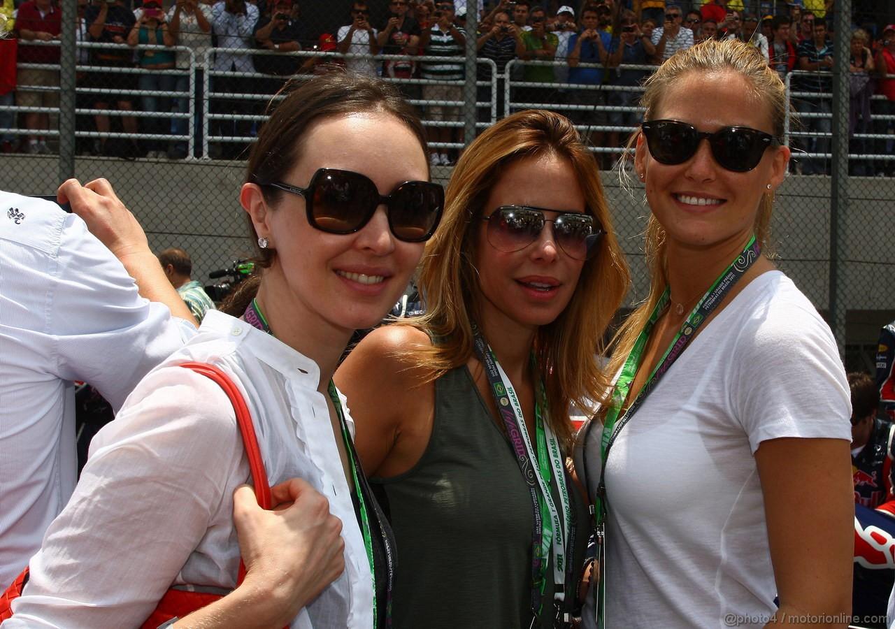 GP BRASILE, 27.11.2011- Gara, Ragazzas