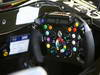 GP BRASILE, 27.11.2011- Steering wheel of Team Lotus, TL11