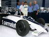 GP BRASILE, 27.11.2011- Nelson Piquet (BRA) with his 1981 championship winning Brabham BT49C