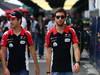 GP BRASILE, 27.11.2011- Timo Glock (GER), Marussia Virgin Racing VR-02 e Jerome D'Ambrosio (BEL), Marussia Virgin Racing VR-02