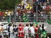 GP BRASILE, 27.11.2011- Drivers parade