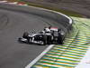 GP BRASILE, 27.11.2011- Gara, Rubens Barrichello (BRA), Williams FW33