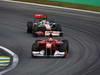 GP BRASILE, 27.11.2011- Gara, Felipe Massa (BRA), Ferrari, F-150 Italia e Lewis Hamilton (GBR), McLaren  Mercedes, MP4-26