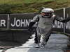 GP BRASILE, 27.11.2011- Gara, Pastor Maldonado (VEN), Williams FW33 retires from the race