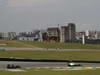 GP BRASILE, 27.11.2011- Gara, Jarno Trulli (ITA), Team Lotus, TL11 e Nico Rosberg (GER), Mercedes GP Petronas F1 Team, MGP W02