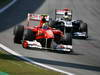 GP BRASILE, 27.11.2011- Gara, Felipe Massa (BRA), Ferrari, F-150 Italia e Rubens Barrichello (BRA), Williams FW33