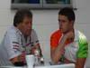 GP BRASILE, 24.11.2011- Norbert Haug (GER), Mercedes Motorsport chief e Paul di Resta (GBR) Force India VJM04