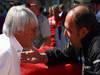 GP BRASILE, 24.11.2011- Bernie Ecclestone (GBR), President e CEO of Formula One Management  e Colin Kolles (GER), HRT F1 Team, Team Principal