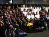 GP BRASILE, 24.11.2011- Team Picture, Mark Webber (AUS), Red Bull Racing, RB7 e Sebastian Vettel (GER), Red Bull Racing, RB7