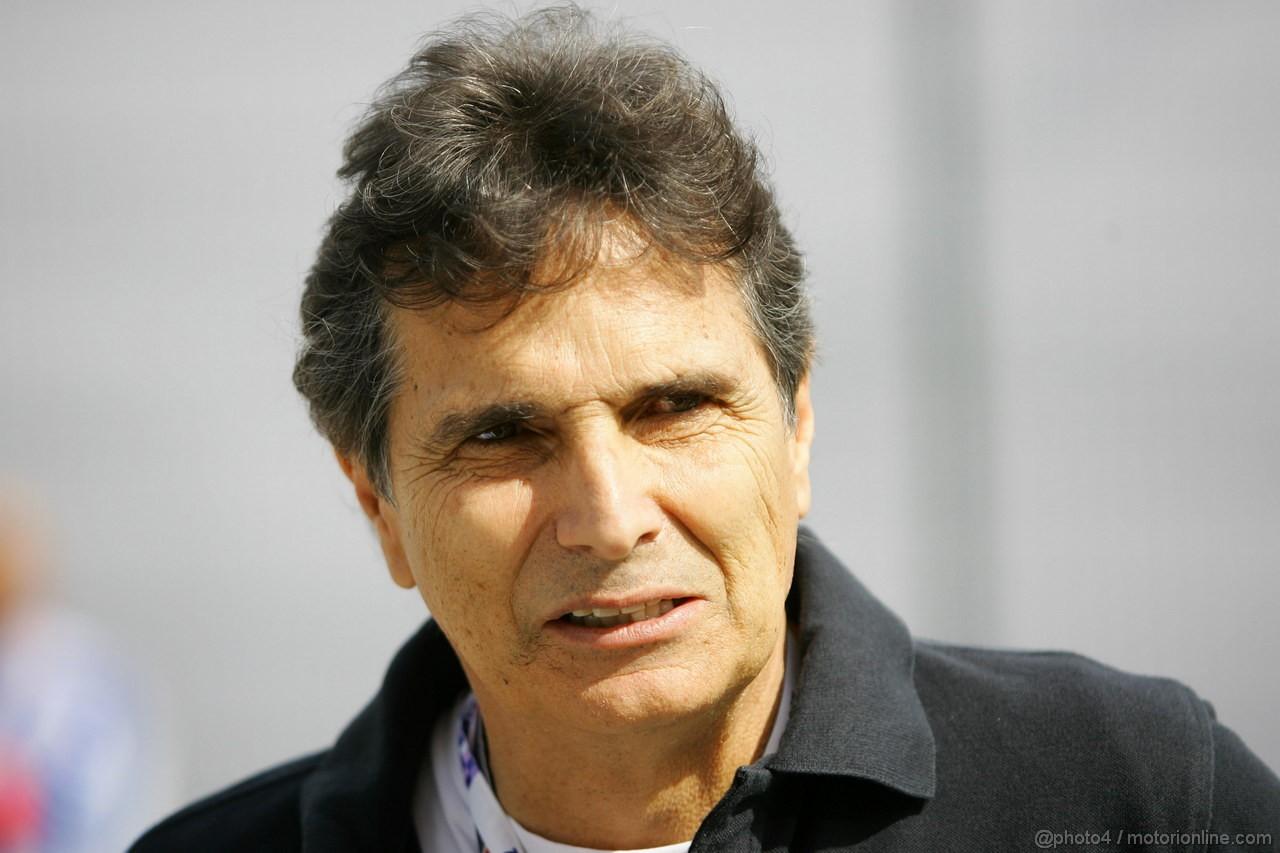 GP BRASILE, 26.11.2011- Nelson Piquet (BRA), Ex F1 Champion