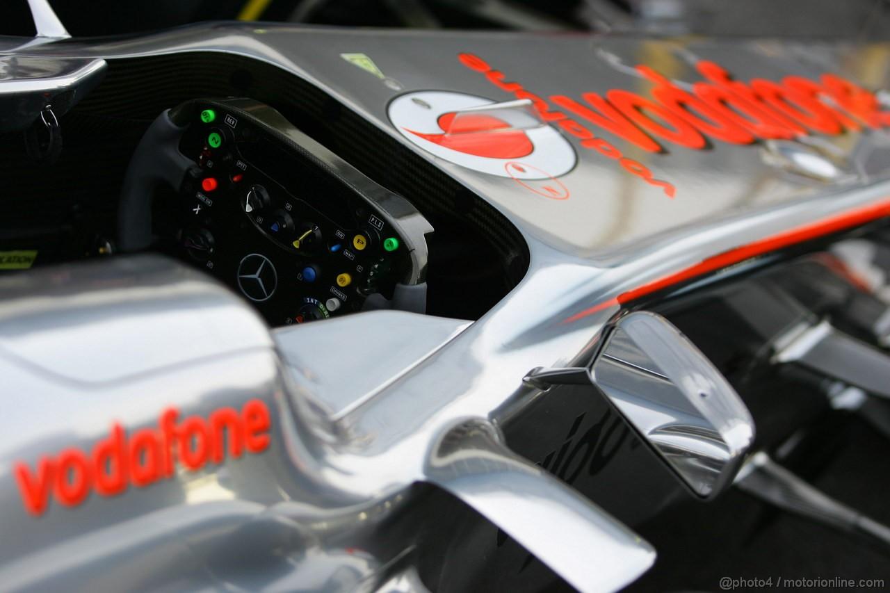 GP BRASILE, 26.11.2011- McLaren  Mercedes, MP4-26