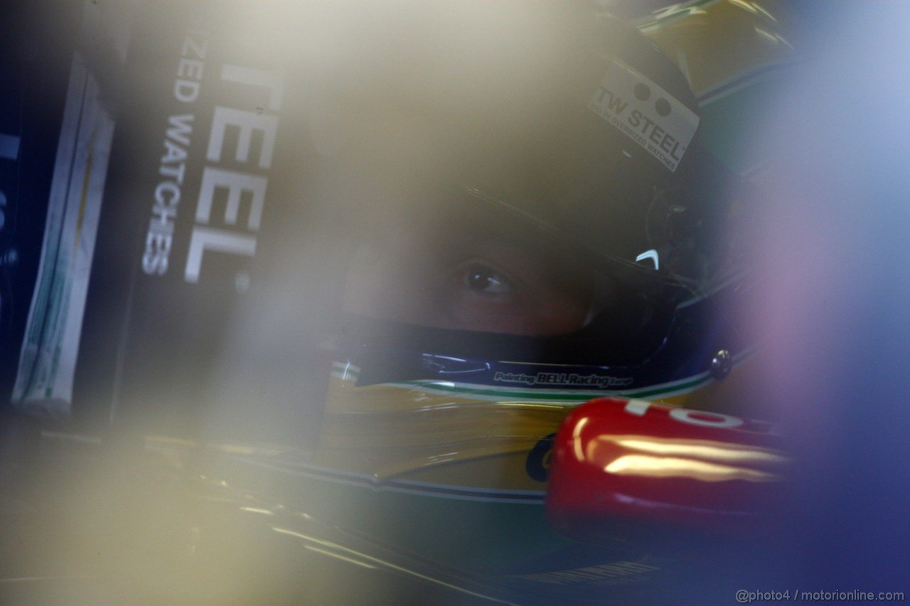 GP BRASILE, 26.11.2011- Prove Libere 3, Sabato, Bruno Senna (BRA), Lotus Renault GP R31