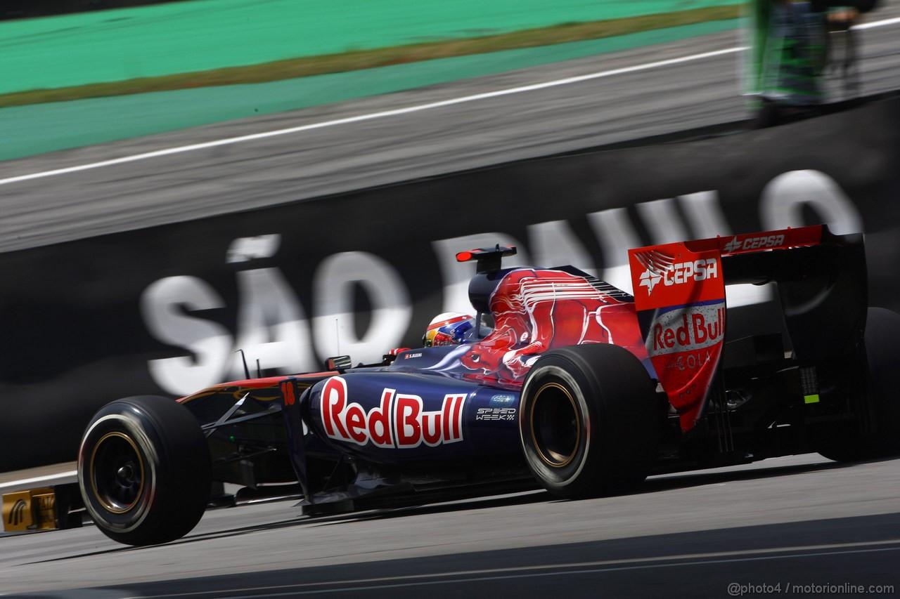GP BRASILE, 26.11.2011- Prove Libere 3, Sabato, S�bastien Buemi (SUI), Scuderia Toro Rosso, STR6