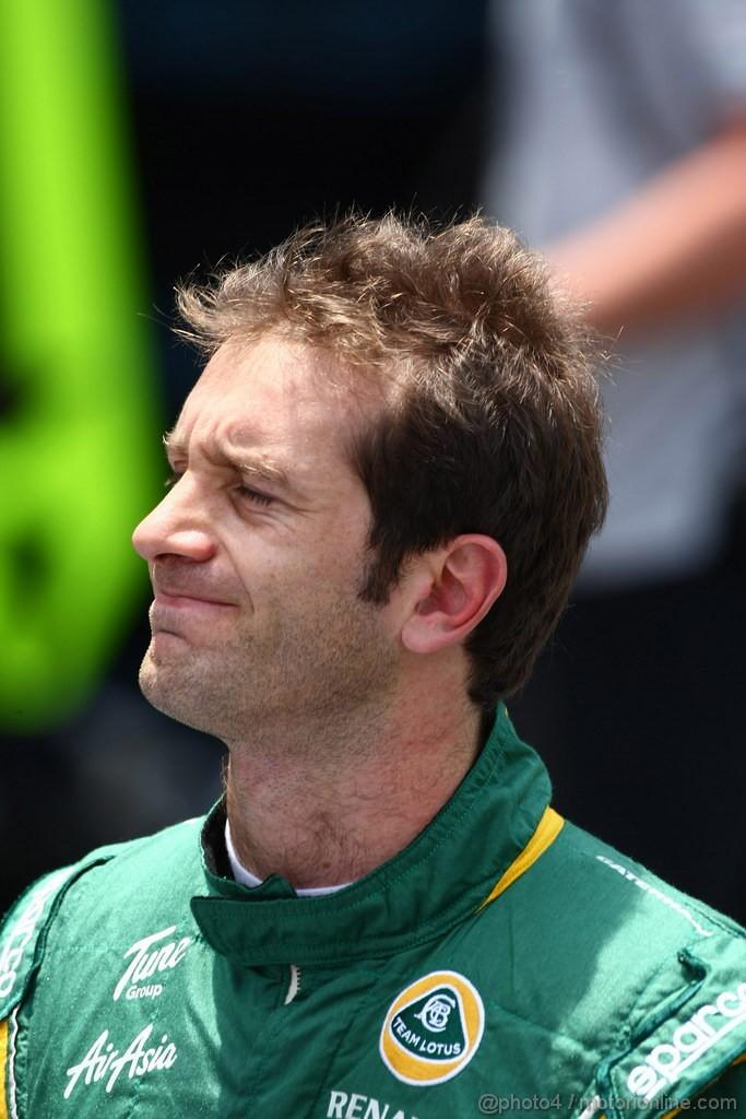 GP BRASILE, 26.11.2011- Prove Libere 3, Sabato, Jarno Trulli (ITA), Team Lotus, TL11