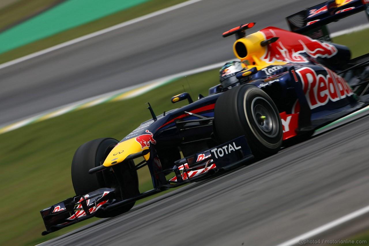 GP BRASILE, 26.11.2011- Qualifiche, Sebastian Vettel (GER), Red Bull Racing, RB7