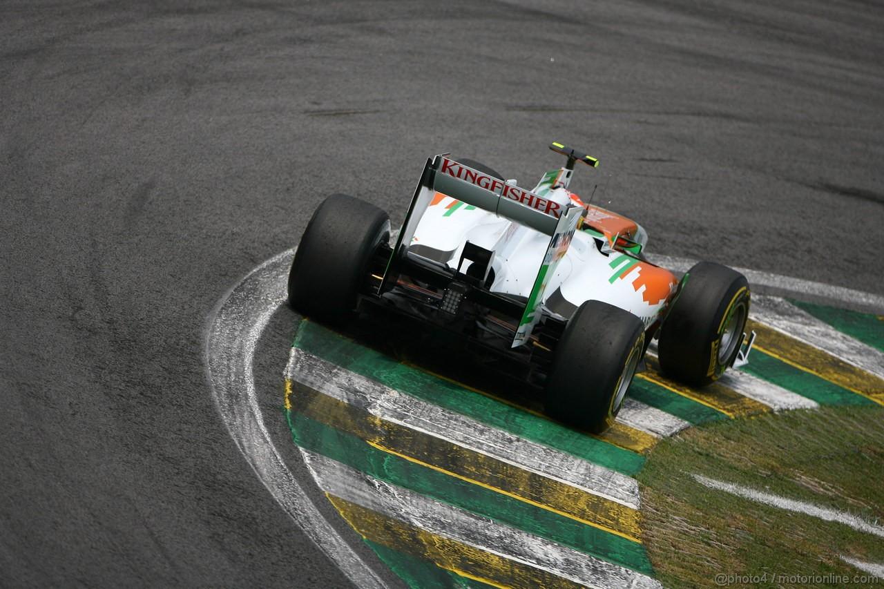 GP BRASILE, 26.11.2011- Qualifiche, Paul di Resta (GBR) Force India VJM04