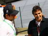 GP BRASILE, 26.11.2011- Nelson Piquet Jr (BRA) e his father Nelson Piquet (BRA), Ex F1 Champion