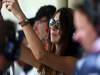 GP BRASILE, 26.11.2011- Prove Libere 3, Sabato, Ragazza in the pit lane